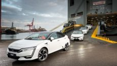 First Honda Clarity Fuel Cell Arrives in Europe
