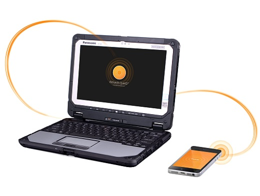 Panasonic FusionPipe Quick ID on Toughbook CF-20_m