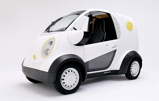 Honda and Kabuku collaborate on 3D printed micro-commuter vehicle