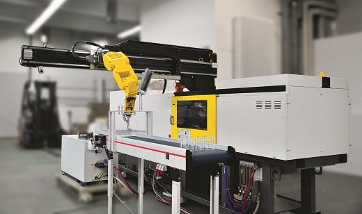 FANUC RoboShot and LR Mate 200iC robot