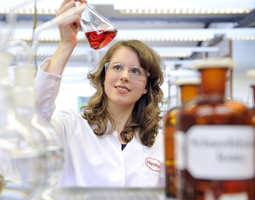 Henkel; Ausbildung; Jessica Jansen; Chemielaborantin