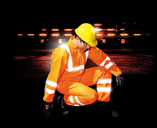 Ne-HON High visibility disposable coverall