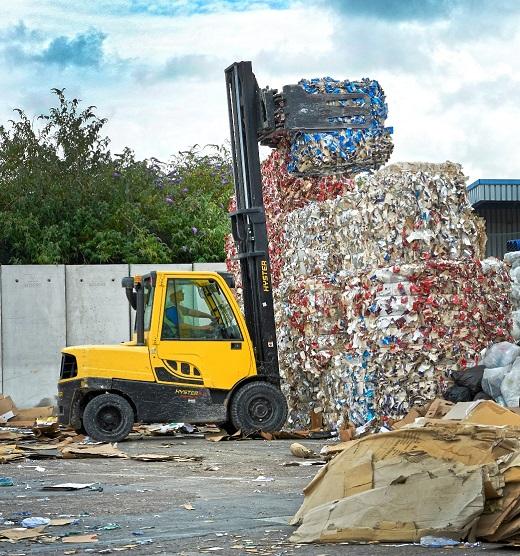 Hyster Cool Truck dla wymagających zastosowań w sektorze odpadów i recyklingu na targach IFAT 2016 (b)_m