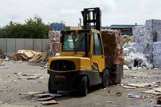 Hyster Cool Truck dla wymagających zastosowań w sektorze odpadów i recyklingu na targach IFAT 2016 (c)_m