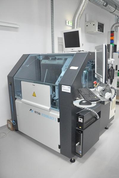 Maszyna lutowania selektywnego Źródło EAE Elektronik_m