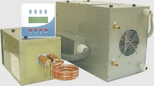 Nagrzewnica indukcyjna SINAC SM GRC 10 o mocy do 10 kW i częstotliwości  pracy do 100 kHz Żródło EFD Induction_m