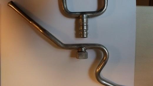 Próbki polutowanego aluminium  Żródło EFD Induction_m