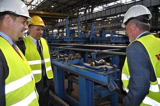 Rozpoczęcie produkcji kotła w Elektrowni JAWORZNO III 8_m