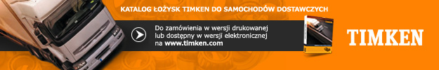 Timken Commercial Vehicle Bearing Catalogue banner PL